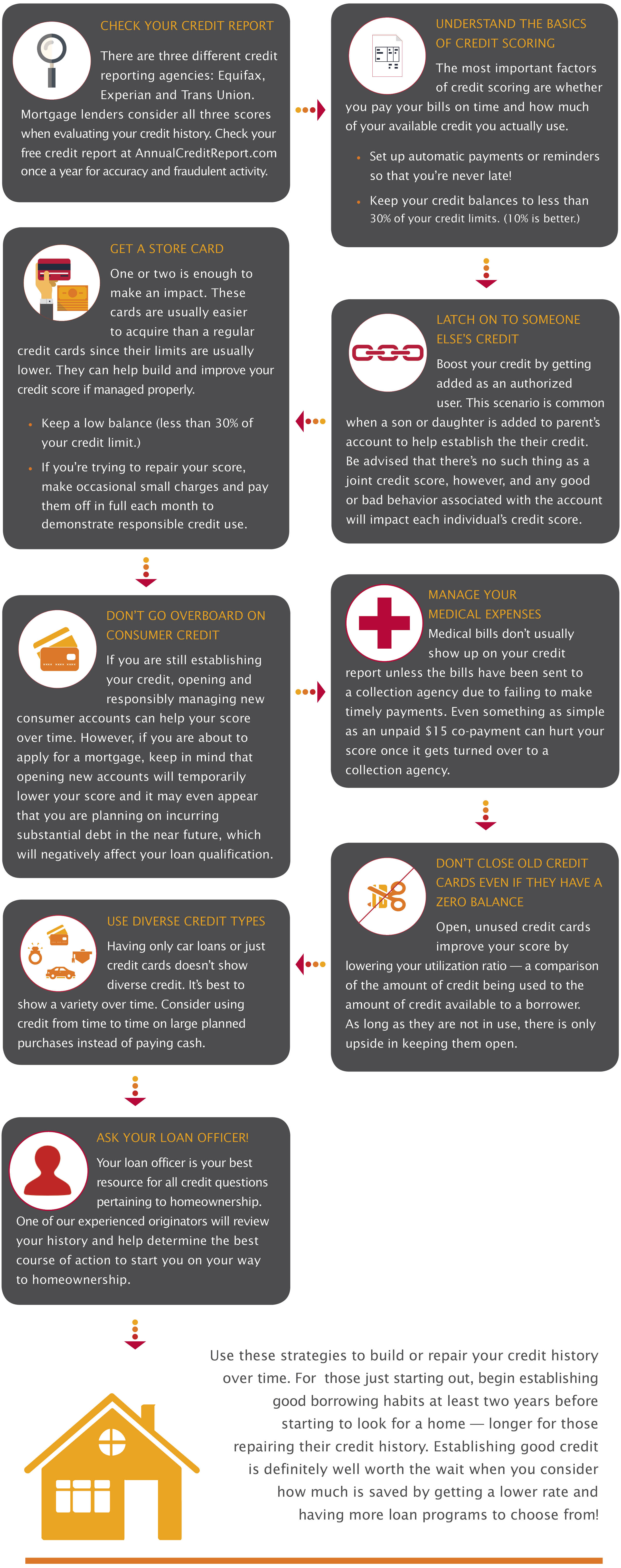 building credit infographic wordpress